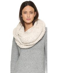 Bickley + Mitchell | Natural Infinity Scarf - Black | Lyst