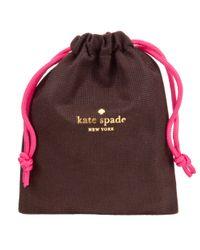 kate spade new york - Metallic 4 Leaf Clover Cuff - Lyst
