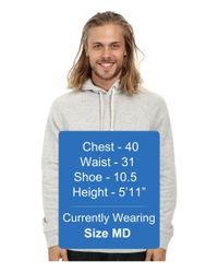 Obey | Gray Lofty Creature Comforts Pullover Hood Sweatshirt | Lyst
