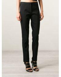 Alexander Wang - Black Slim Fit Trousers - Lyst