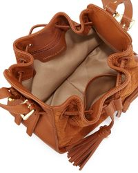 Isabella Fiore - Brown Urban Quilted Suede Crossbody Bag - Lyst