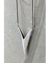 Luv Aj - Metallic Saber Pendant Necklace - Lyst