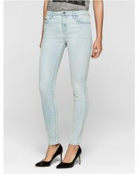 Calvin Klein | Jeans Skinny Light Blue High-rise Jeans | Lyst