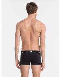 Calvin Klein - Black Ck Id Micro Low Rise Trunk for Men - Lyst