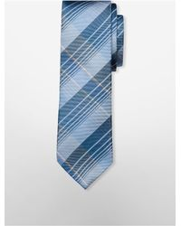 Calvin Klein | Blue Slim Brighton Plaid Pack for Men | Lyst