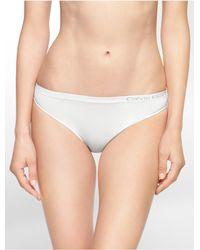 Calvin Klein | White Underwear Pure Seamless Bikini | Lyst