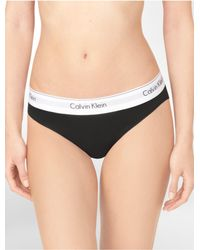 CALVIN KLEIN 205W39NYC - Black Underwear Modern Cotton Bikini - Lyst