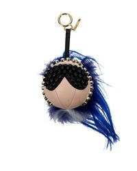 Fendi Blue Pendants Punkito Women