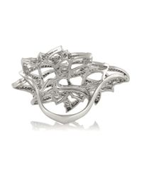 Stephen Webster - Metallic Magnipheasant 18-Karat White Gold Diamond Ring - Lyst