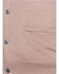 Acne Studios - Pink 'clissold C' Wool Cardigan for Men - Lyst