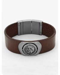 DIESEL - Brown Bracelet Dx0798 for Men - Lyst