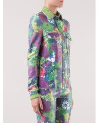 Patricia Viera | Green Floral Print Shirt | Lyst