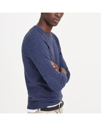 J.Crew - Blue Slim Softspun Sweater for Men - Lyst