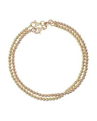 Carolina Bucci - Metallic Set Of Two 18-Karat Gold Bracelets - Lyst