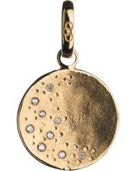 Links of London - Metallic Watch Over Me 18ct Moon Charm - Lyst