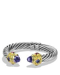 David Yurman | Purple Iolite & Gold | Lyst
