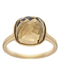 Swarovski | Metallic Dot Ring | Lyst