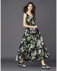 Dolce & Gabbana - Orange Blossom Dress - Lyst