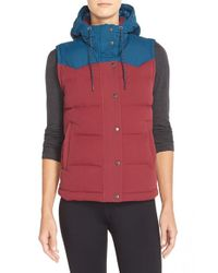 Patagonia | Red Bivy Water-Resistant Power Down Vest | Lyst