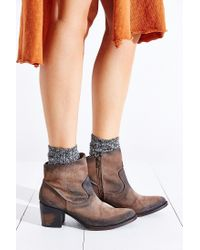 Freebird by Steven | Gray Salt Ankle Boot | Lyst