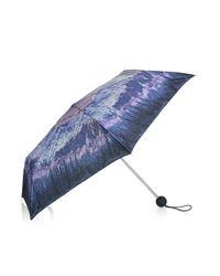 TOPSHOP - Multicolor Landscape Print Umbrella - Lyst