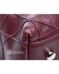 Dior - Red Pre-owned Burgundy Granville Bag for Men - Lyst