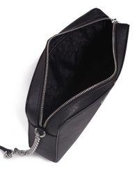 MICHAEL Michael Kors - Black Jet Set Crossbody Bag - Lyst