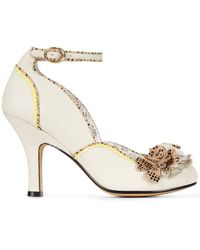 Poetic Licence - White Good N Ready Mary Jane Pumps - Lyst