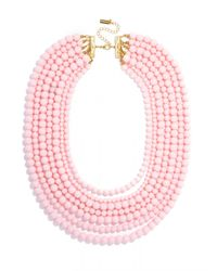 BaubleBar - Pink Bold Beaded Strands - Lyst