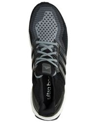 Adidas | Black Men's Ultra Boost Running Sneakers From Finish Line for Men | Lyst