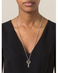 Marc By Marc Jacobs | Metallic Key Pendant Necklace | Lyst