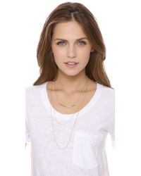 Kristen Elspeth | Metallic Layered Arc Necklace | Lyst