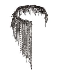 Dorothee Schumacher - Gray Radiant Collier Long Fringes - Lyst