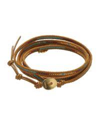 Chan Luu - Brown Bracelet - Lyst