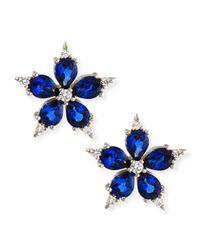 Paul Morelli - Small Stellanise Blue Sapphire & Diamond Stud Earrings - Lyst
