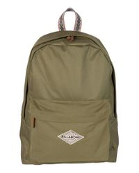 Billabong - Green 'swept Summer' Backpack - Lyst