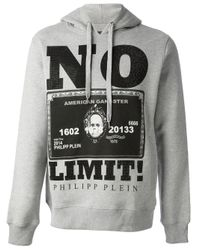 Philipp Plein - Gray No Limits Sweatshirt for Men - Lyst
