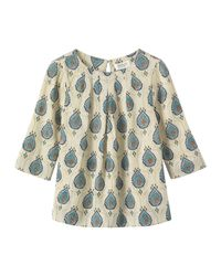 Toast | Green Block Print Top | Lyst