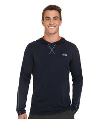 The North Face - Blue Ampere Hoodie for Men - Lyst