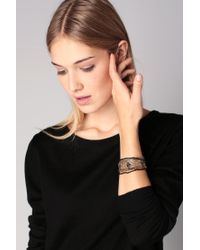 Pieces - Yellow Bracelet - Lyst