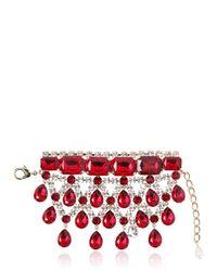 DSquared² | Red Crystal Bracelet | Lyst