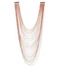 Rosantica | Metallic Rose Gold-Plated Mille Fili Necklace | Lyst