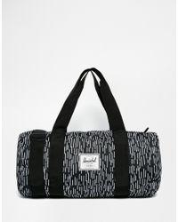 Herschel Supply Co. | Black Sutton Mid Barrel Bag 25.5l for Men | Lyst