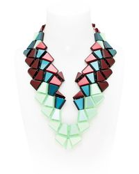 Silvia Rossi - Green Biguana Necklace - Lyst