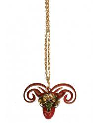 Matthew Williamson | Metallic Aries Pendant Necklace | Lyst