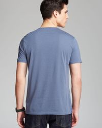 Burberry - Blue Brit Mccall Tee for Men - Lyst
