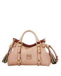 Dooney & Bourke | Pink Florentine Mini Leather Satchel | Lyst