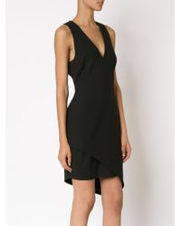 Elizabeth and James - Black Asymmetric Hem Dress - Lyst