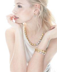 Gurhan - Metallic Lentil Ice 24k Gold & Diamond Drop Earrings - Lyst