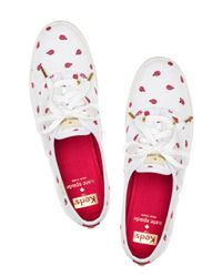 Kate Spade | White Keds For Kick Sneakers | Lyst